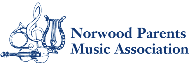 Norwood Parents<br>Music Association Logo